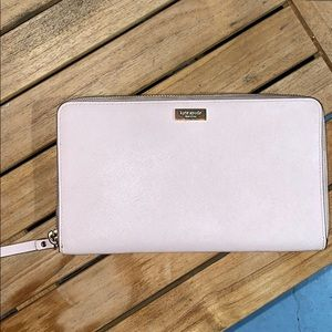 Kate Spade Laurel Way Large Saffiano Travel Wallet